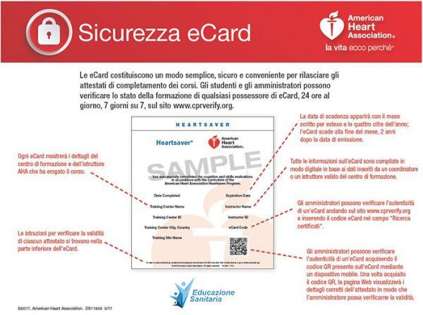 eCard: addio certificato cartaceo